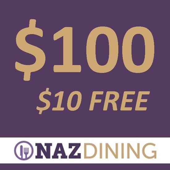 Picture of $100 Dining Dollars + $10 FREE Dollars